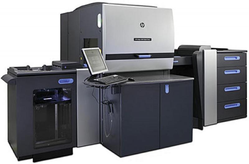 数码印刷机_hp 5500数码印刷机